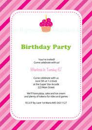 Online Birthday Invitations Templates Interesting Free Printable Birthday Party Invitation Templates