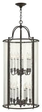 white foyer pendant lighting candle. Hinkley 3479OB Gentry Large Olde Bronze 12 Candle Entryway Lighting Fixture - HIN-3479OB White Foyer Pendant I