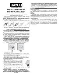 How To Use A Suction Cup Light Bulb Changer Bayco Lbc 600c 3 Pack Bulb Changer Instruction Manual