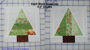 Scrappy Trees Tutorial | Sew BitterSweet Designs & Two scrappy pine trees. Sorry about this next block – it was easier to show  you the cutting measurements on a partially assembled block: Adamdwight.com