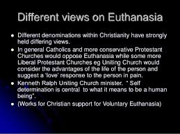 Christian Quotes On Euthanasia Best of Christian Ethics Bioethicshsc MCC Resource