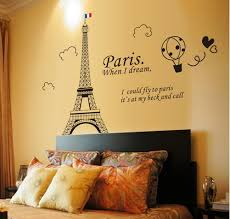 stickers fange image fange diy removable black eiffel tower paris when i dream art mural on wall art murals vinyl decals stickers with fange stickers fange diy removable black eiffel tower paris when i