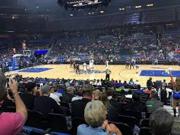 Amway Arena Seating Chart With Rows Amway Center Section 105 Row 13 Seat 1 Orlando Magic Vs