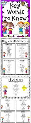 27 Best Math Key Words Images Math Math Key Words 3rd