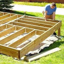 building a deck frame how to build a deck frame deck build a deck simple deck