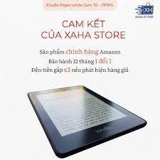 Mã SKAMPUSHA8 giảm 8% đơn 300K] ️ NEW 100% - SEAL ️ Máy đọc sách Amazon  Kindle Paperwhite 4 (thế hệ thứ 10 - 8/32GB) giá cạnh tranh