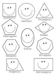 Disegni Sulle Forme Geometriche Da Far Colorare Ai Bambini