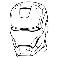 Iron Man Stampa E Colora Disegni Org