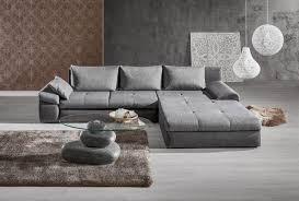 Wohnlandschaft In Textil Anthrazit Grau In 2019 Couch