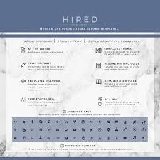Creative Resume Template Archivos - Hired Design Studio