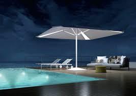 canvas patio umbrella commercial patio umbrella canvas with built in light wind resistant