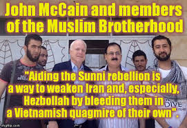 "Résultat de recherche d'images pour ""john McCain muslim brotherhood"""