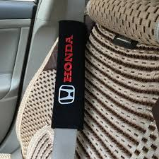 seat belt cover car styling case for honda automobile cotton inner decor car accessories car