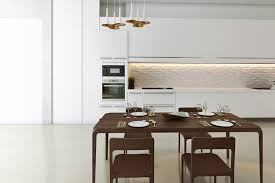modern white floors. Modern White Cabinet Kitchen With Corian Countertops And Cement Floors O