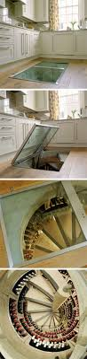Wine Cellar In Kitchen Floor Trapdoor In The Kitchen Floor Spiral Wine Cellars Be Cool Wine
