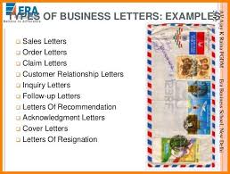 7 Different Types Of Business Letter With Example Dragon Fire Defense