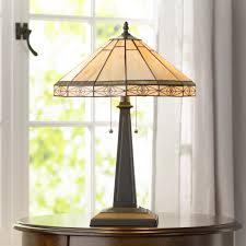 Wohnzimmer Lampe Holz Glas