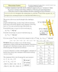 Arithmetic Sequence Worksheet Answers Arithmetic Sequences Worksheets Wustlspectra Com