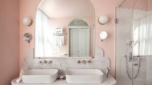 henrietta hotel bathroom pink
