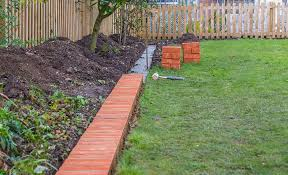 how to install brick edging the home