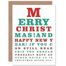Christmas Eye Chart
