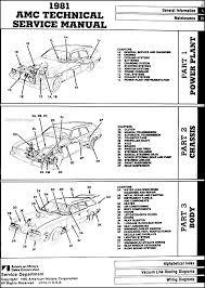 1979 amc concord wiring diagram 1979 auto wiring diagram database 1981 amc repair shop manual original eagle spirit concord on 1979 amc concord wiring diagram