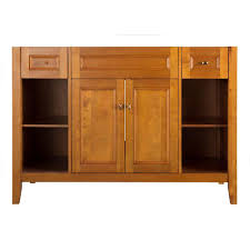 Foremost Exhibit 48 in. W Bath Vanity Cabinet Only in Rich ...