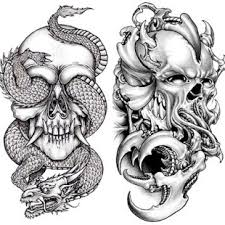 Skull Tattoo Sketches Slunečnicecz