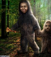 Image result for obama bigfoot