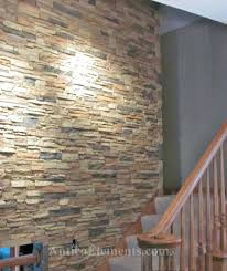 interior stone accent wall faux stone wall with interlocking panels via interior stone accent wall design