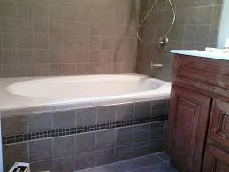 good looking bathroom decoration using tile bathtub cabinet simple yet stunning bathroom design ideas with