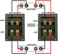 bi amping bi wiring research material page blu ray forum