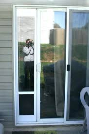 sliding screen door with dog door dog proof screen door home depot cat door pet screen