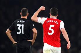 Mark's) ثم غير الاسم إلى نادي أدرويك (بالإنجليزية: تشكيلة آرسنال أمام مانشستر سيتي في الدوري الإنجليزي صحيفة سبورت