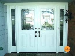 exterior double doors. Metal Double Doors Exterior Steel Medium Size Of . R