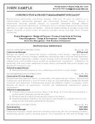 Site Manager Resume Site Manager Resume Site Manager Supervisor ...