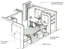 Handicap Accessible Bathroom Floor Plans Exellent Handicap