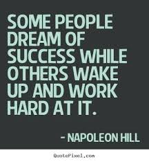 Quotes About Success And Hard Work Cool Quotes About Success And Hard Work Combined With Dictionary Is The