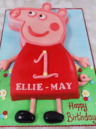 Crafty Cakes Exeter Uk Peppa Pig Cake