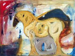 Sharron Evans | Fritz Horse @ Visions West Gallery :: Work :: Visions West  Contemporary