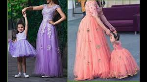 Designer Dresses For Mother And Daughter New Mother Daughter Dress For Wedding Inspo Fashion And
