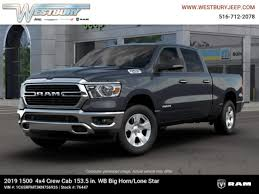 New 2019 Ram 1500 BIG HORN / LONE STAR CREW CAB 4X4 6'4 BOX For Sale in Jericho, Long Island | VIN: 1C6SRFMT3KN756926