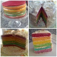 Light Brown Self Raising Flour Rainbow Cake For The Cake 350g Self Raising Flour 350g Soft