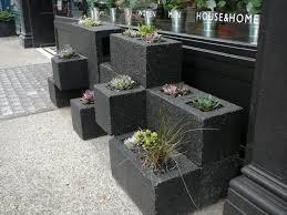 15 ides gniales faites  partir de simples blocs de bton! Cinder Block  GardenCinder Block IdeasCinder ...