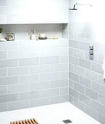 gray shower tile large subway tile shower tiles in a light gray shower tile ideas