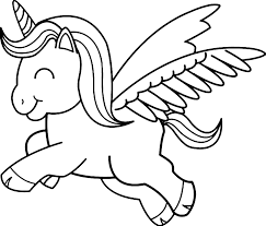 If you love unicorns and you love coloring, get ready to let your glitter and rainbows. Baby Unicorn Printable Coloring Pages Coloring Rocks