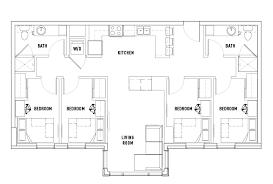 4 Bed   2 Bath B Penthouse