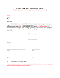 resignation with retirement letter template resignation retirement letter