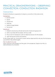 Worksheet 1 - practical demonstrations