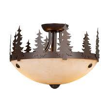 awesome semi flush chandelier canyon semi flush ceiling light 12 inch